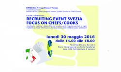 Recruiting event Svezia Focus on Chefs/Cooks