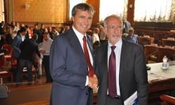 Il Sindaco Brugnaro e il Commissario Castelli