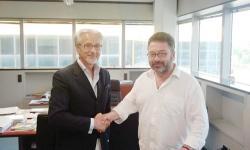 il direttore Apindustria, Roccato con l'assessore Lucio Gianni