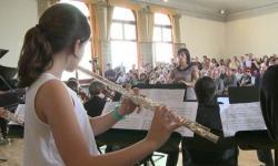 """un concerto svolto all'interno del progetto """"Il bello e la musica"""""""