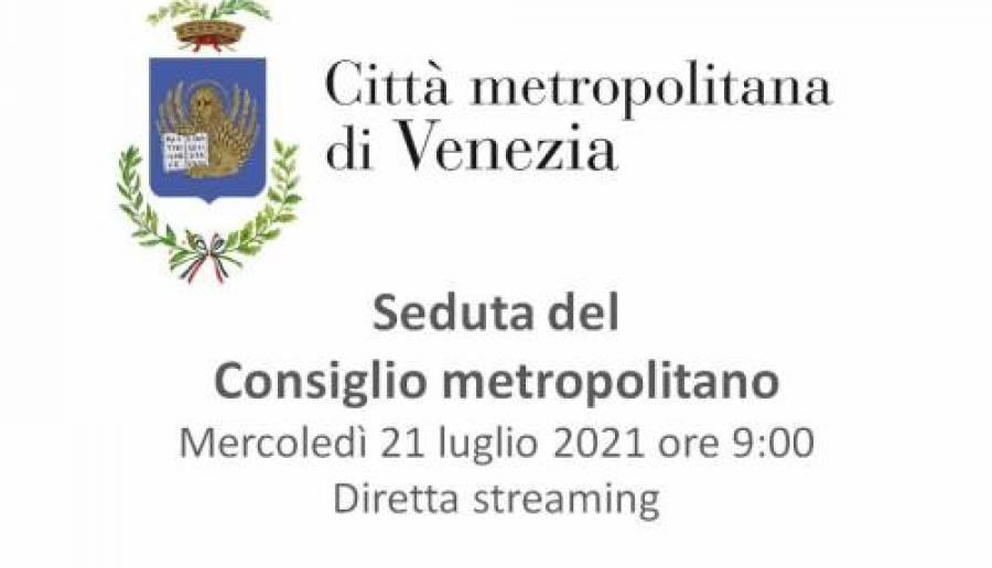 Consiglio metropolitano diretta streaming