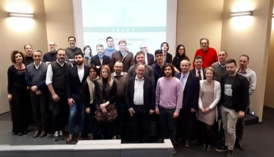 Kick off meeting progetto SECAP