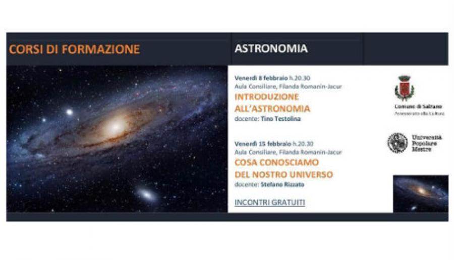 Incontri di astronomia a Salzano