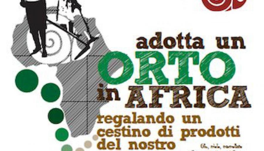 un orto per l'Africa, iniziativa Slow Food