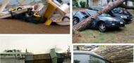 I danni del maltempo nel Veneziano